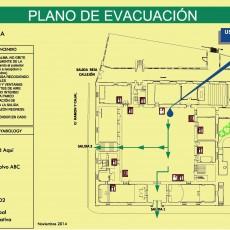 Planos de evacuación: Nueva norma UNE 23032:2015